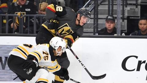 Boston Bruins defenseman Connor Clifton, forward Tomas Nosek