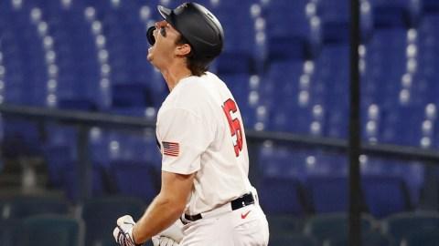 Boston Red Sox/Team USA infielder Triston Casas