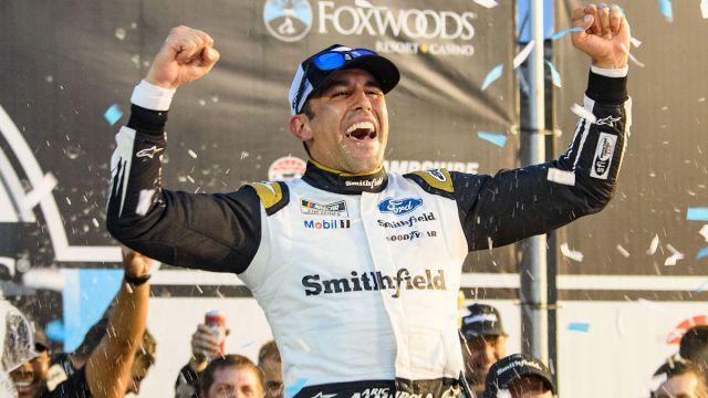 NASCAR driver Aric Almirola