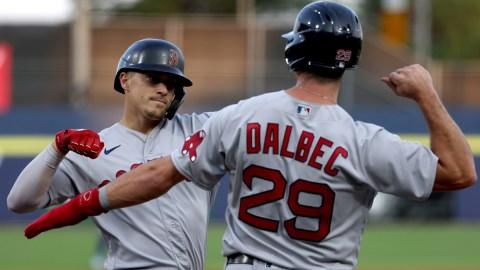 Boston Red Sox center fielder Enrique Hernandez, Bobby Dalbec