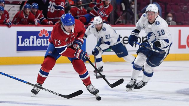 Montreal Canadiens and Tampa Bay Lightning
