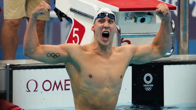 Team USA swimmer Chase Kalisz