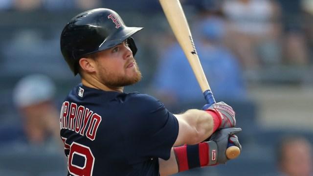 Boston Red Sox second baseman Christian Arroyo