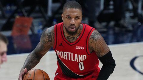 Portland Trail Blazers guard Damian Lillard