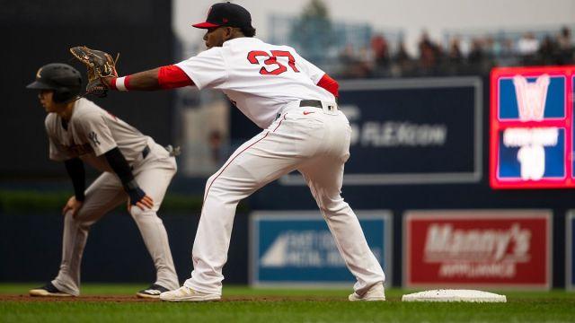 Boston Red Sox player Franchy Cordero