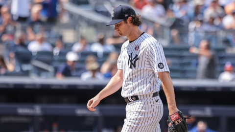 New York Yankees starting pitcher Gerrit Cole