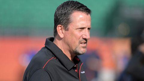 New York Jets assistant coach Greg Knapp