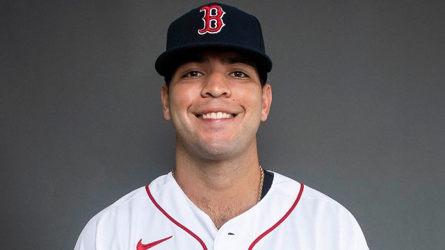 Boston Red Sox infielder Hudson Potts
