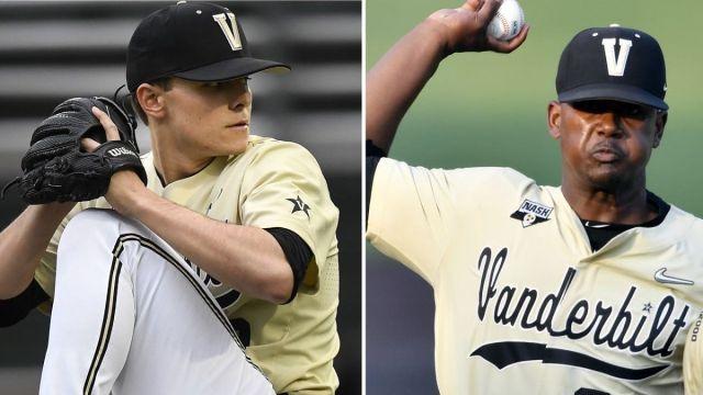 MLB Draft prospects Jack Leiter and Kumar Rocker