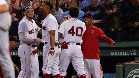 Boston Red Sox manager Alex Cora, Jarren Duran