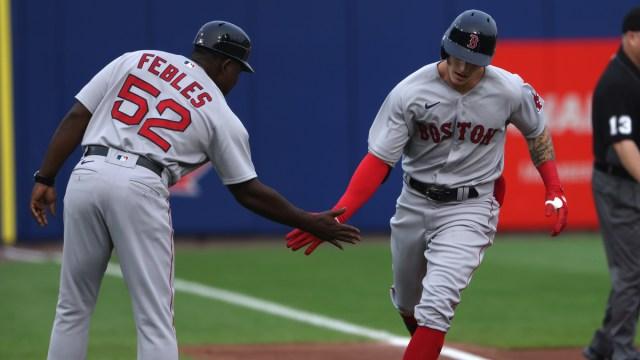 Boston Red Sox center fielder Jarren Duran