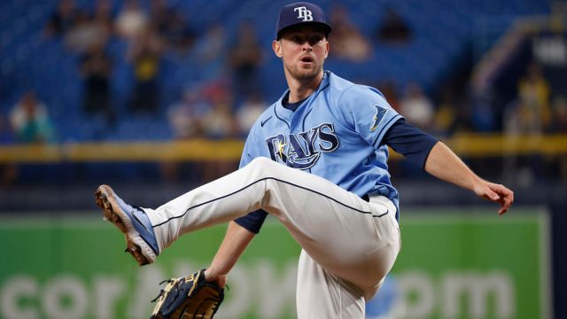 Tampa Bay Rays pitcher Jeffrey Springs