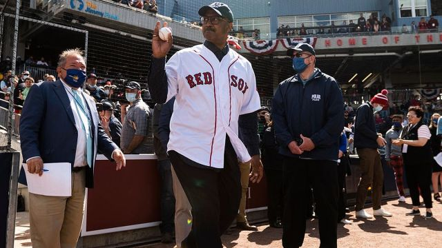 Former Boston Red Sox player Jim Rice
