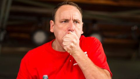 13-time Nathan's Hot Dog Eating Contest champion Joey Chestnut