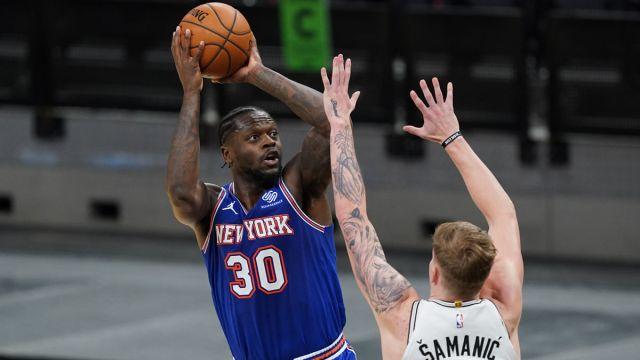 New York Knicks forward Julius Randle