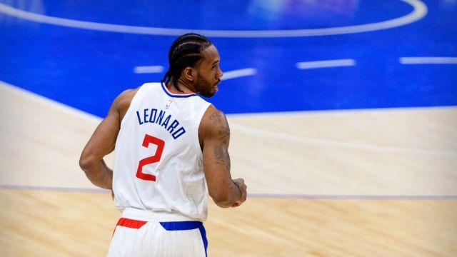 LA Clippers forward Kawhi Leonard