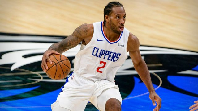 Los Angeles Clippers forward Kawhi Leonard