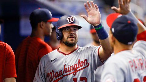 Washington Nationals outfielder Kyle Schwarber