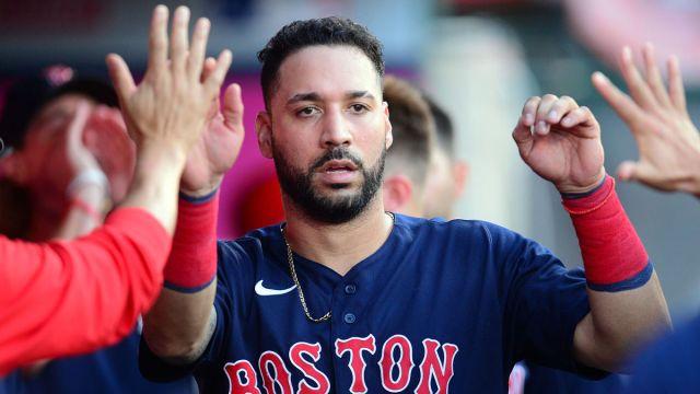 Boston Red Sox utility man Marwin Gonzalez