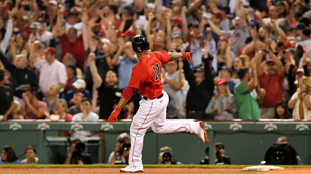 Red Sox First Pitch: Rafael Devers Joins Elite Company With 100th Career Homer