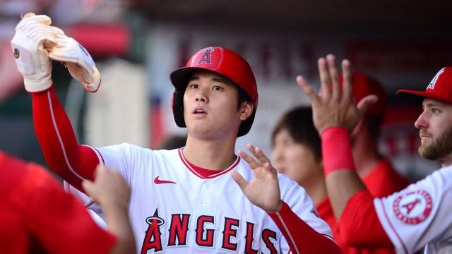 Los Angeles Angels designated hitter Shohei Ohtani