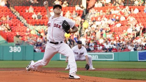 Boston Red Sox pitcher Tanner Houck