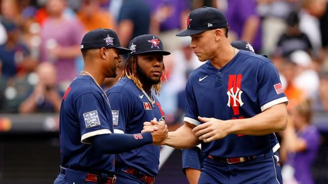 American League shortstop Xander Bogaerts