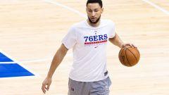 Philadelphia 76ers forward Ben Simmons