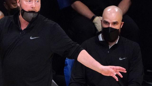 Boston Celtics assistant coach Ben Sullivan