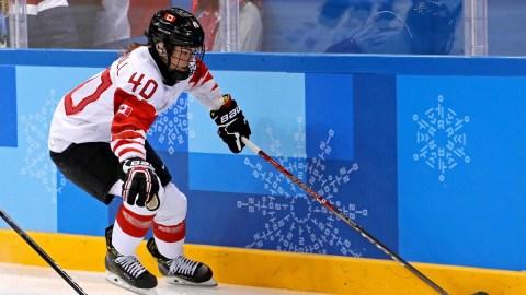 Team Canada Forward Blayre Turnbell