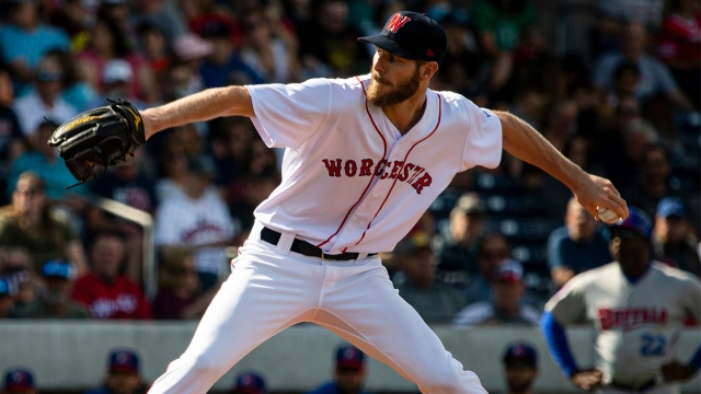 Worcester Red Sox pitcher Chris Sale