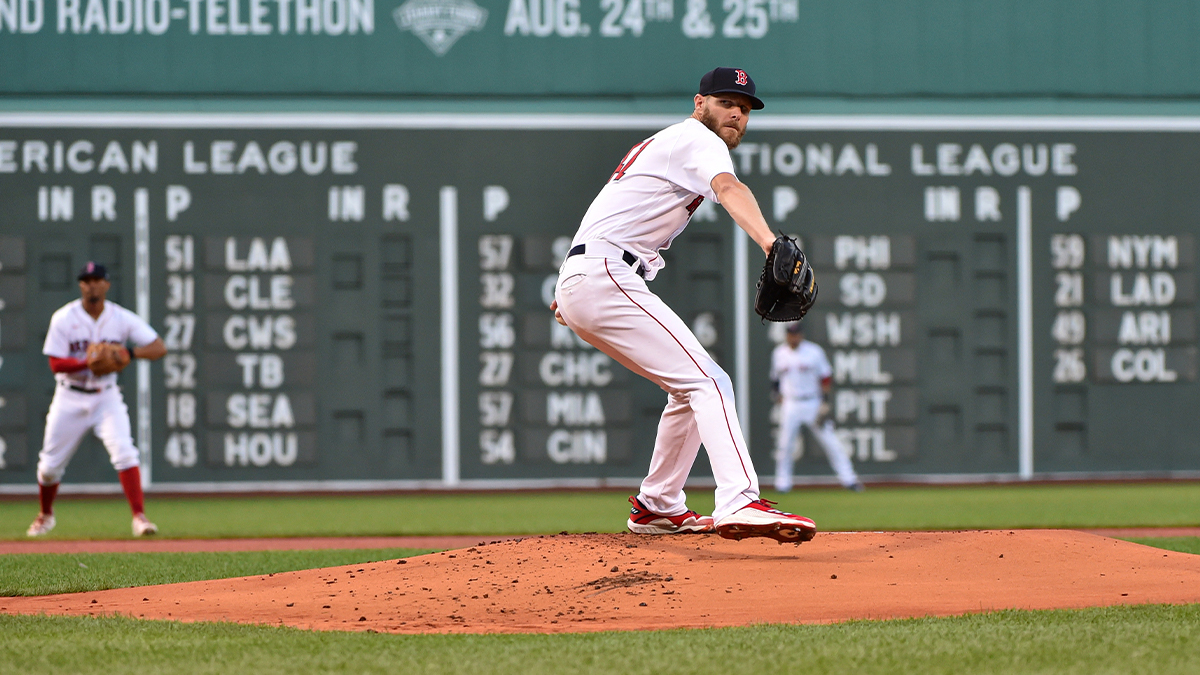Red Sox First Pitch: Chris Sale's Velocity Should Not Be Huge Concern