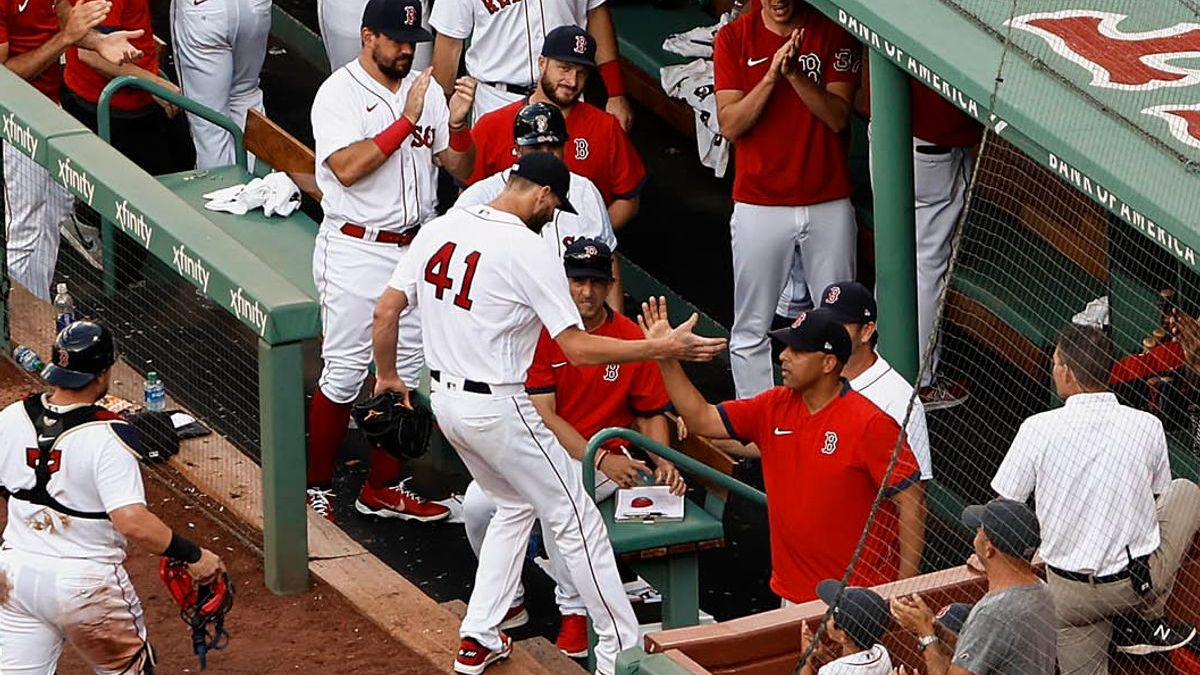 Red Sox's Chris Sale Shows Appreciation After Returning To Mound