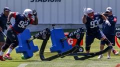 New England Patriots defensive lineman Davon Godchaux