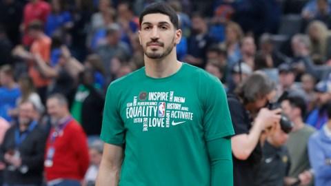 Boston Celtics center Enes Kanter
