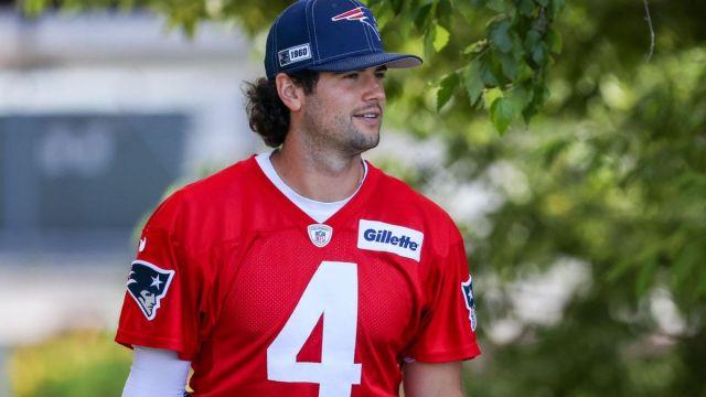 New England Patriots backup Jarrett Stidham