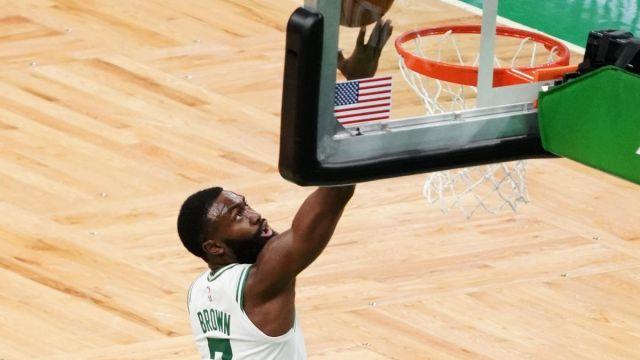 Boston Celtics wing Jaylen Brown