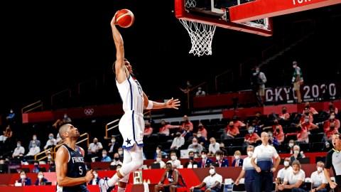 Boston Celtics and USA Basketball forward Jayson Tatum