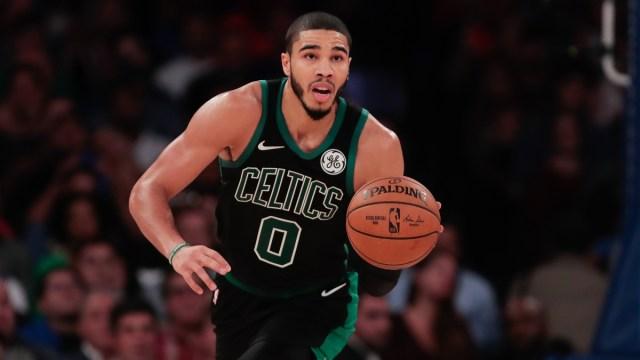 Boston Celtics star Jayson Tatum
