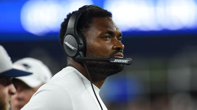 New England Patriots linebackers coach Jerod Mayo