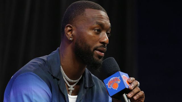 New York Knicks guard Kemba Walker