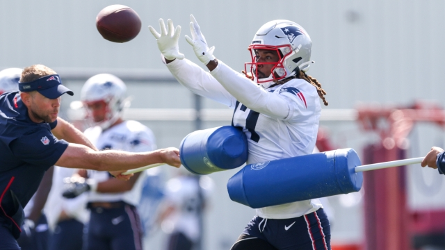 New England Patriots receiver Kristian Wilkerson