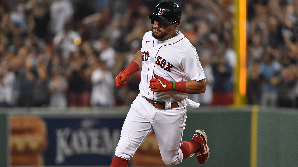 Red Sox First Pitch: Kyle Schwarber's Patience Paying Off