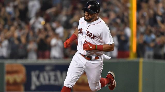 Boston Red Sox designated hitter Kyle Schwarber