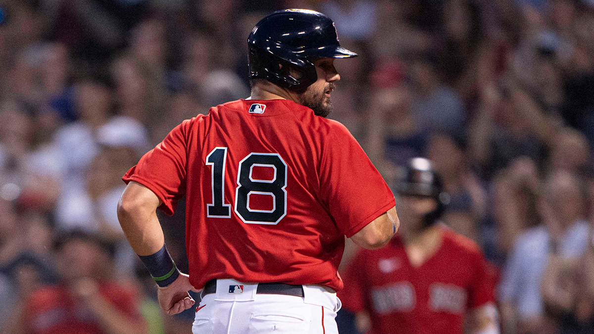 Red Sox First Pitch: Kyle Schwarber Could Play First Base Very Soon