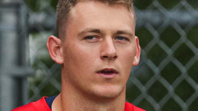 New England Patriots quarterback Mac Jones