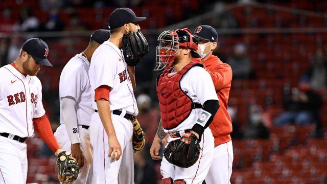 Boston Red Sox pitcher Matt Barnes