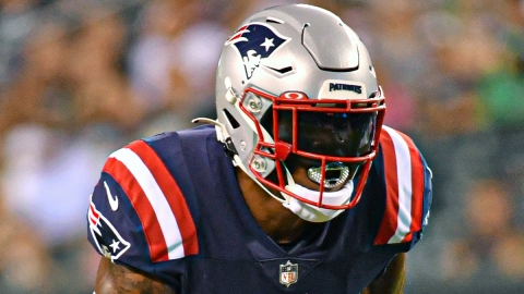 New England Patriots wide receiver N'Keal Harry