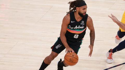 San Antonio Spurs guard Patty Mills