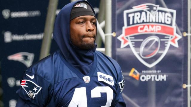 New England Patriots defensive end Rashod Berry